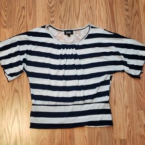 🟢➡️4 for $15⬅️🟢Lace Back Navy stripes